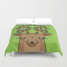 Love with Cherries on Top Duvet Cover