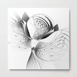 fractal design -13- Metal Print