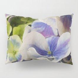 Hydrangea in Blue 3 - Close Up Like Butterflies Pillow Sham