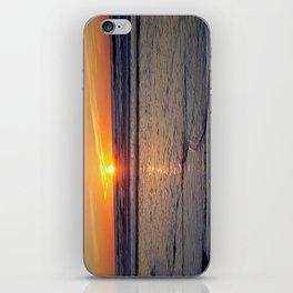 Sunrise over the Atlantic iPhone Skin