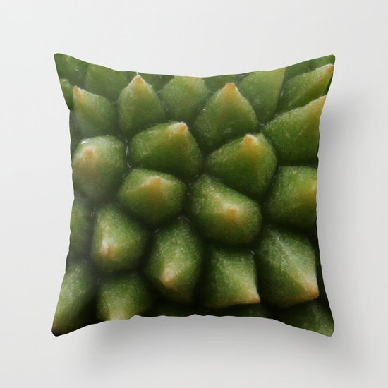 BABY DURIAN  Throw Pillow