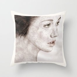 How did I get here? Throw Pillow