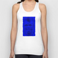 juventus Tank Tops featuring World Cup Edition - Paul Pogba / France by Milan Vuckovic