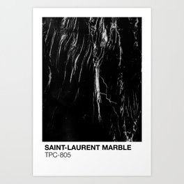 ST-LAURENT MARBLE TPC-805 Art Print