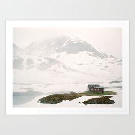 July in Norway Art Print