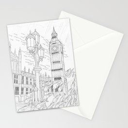 London Underwater Stationery Cards