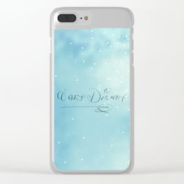 Walt's John Hancock Clear iPhone Case