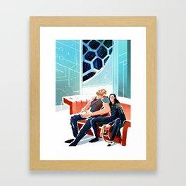 Let them rest Framed Art Print
