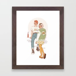 luna and ginny Framed Art Print