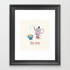 Teatime Framed Art Print