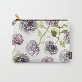 Purple Globe Thistles Carry-All Pouch