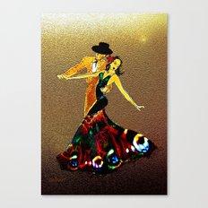 DANCERS - La Fiesta Canvas Print