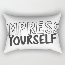IMPRESS YOURSELF Rectangular Pillow