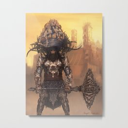 Akali – Warrior Monk Metal Print