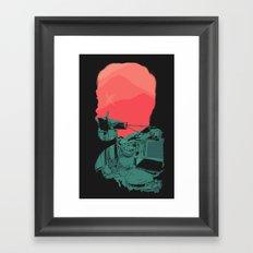 Urban Behavior Framed Art Print