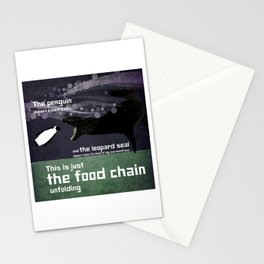food chain 4 Stationery Cards