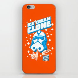 Ice Cream Clone iPhone Skin