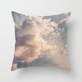 The Clouds #2 Throw Pillow