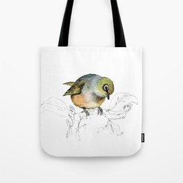 Sylvereye - Waxeye bird Tote Bag