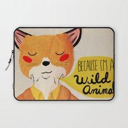 Because I'm a Wild Animal Laptop Sleeve