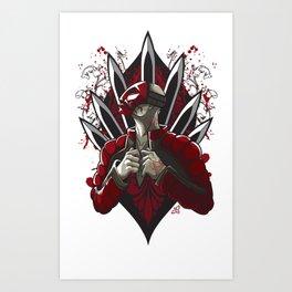 Masked Assassin Art Print