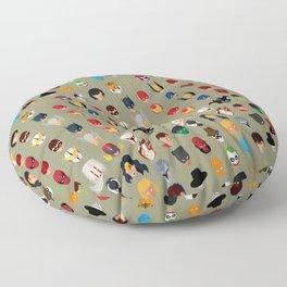 SuperHeroes Floor Pillow
