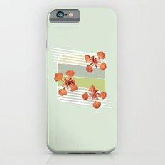 Royal Poinciana Slim Case iPhone 6s