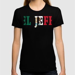 El Jefe Mexican Pride Mexico Flag Men product T-shirt