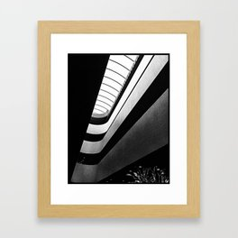Frank Lloyd Wright: Marin Civic Center - San Rafael, CA Framed Art Print