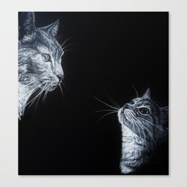 Tom and Kit Canvas Print