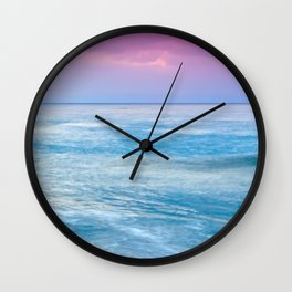 Looking Out To Sea Wall Clock