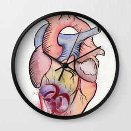 Toxic Heart Wall Clock