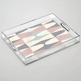 Zaha Pastel Acrylic Tray