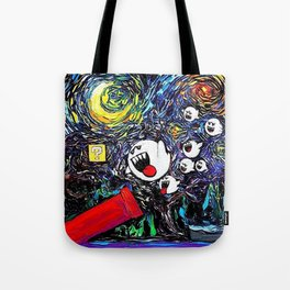 Ghost Attack Painting Tote Bag