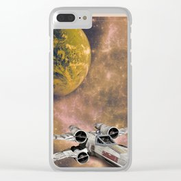 X-Wing Clear iPhone Case