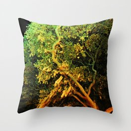 The Secret Haven of Tisiphone Throw Pillow