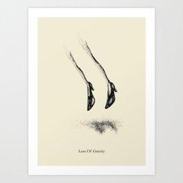 Loss Of Gravity Art Print