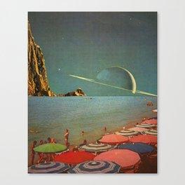 Titan Beach Canvas Print