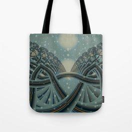 Celtic Winter Forest Tote Bag