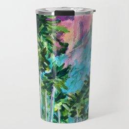 Field of Palms Travel Mug