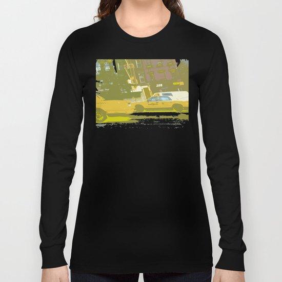 NY#8 Yellow Cab Long Sleeve T-shirt