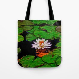 From the Lilypads Tote Bag
