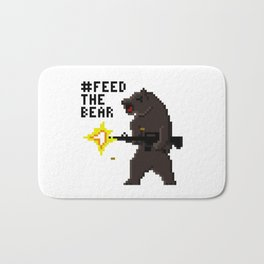 Bear Arms #2 Bath Mat