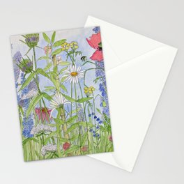 Flowers Alive Watercolor Stationery Cards