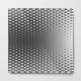 Sliver Pattern Metal Print
