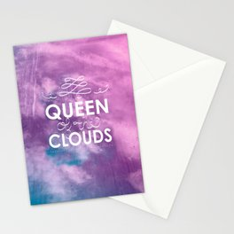 Queen of the Clouds Stationery Cards