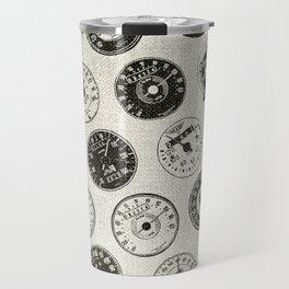 Vintage Motorcycle Speedometers Travel Mug