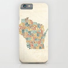 Wisconsin by County iPhone 6s Slim Case