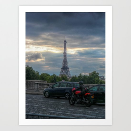 Race to the Tower Art Print