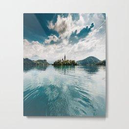 bled lake Metal Print